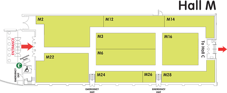 Map of Hall M