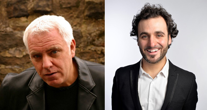 Dave Spikey and Patrick Monahan